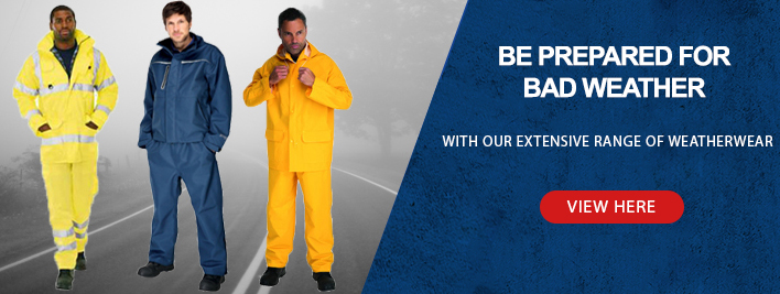 Be Prepared For Bad Weather With Our Full Range Of Jackets, Body Warmers, Wellies and Many More!