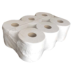Allied JT20 2-Ply White Jumbo Toilet Rolls [Case 12]