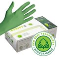 Globus 6110PF Showa Biodegradable Nitrile Powder Free Gloves [100]