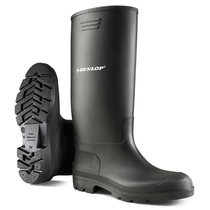 Dunlop Pricemaster Non Safety Wellingtons Black