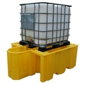 Ecospill Single IBC Spill Pallet & Integrated Dispenser P3201420