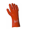 Keep Safe 14'' Red PVC Gauntlets