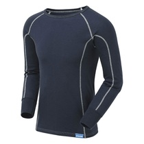 Pulsar BZ1501 Blizzard Navy Blue Thermal Long Sleeve Top