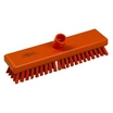 B77OT Orange Stiff Deck Scrub 300mm