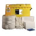 Ecospill 600L Oil Only Spill Kit 4 Wheel PE Bin H1230600