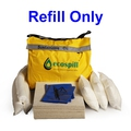 Ecospill H1880051 50L Sustainable Oil Only Spill Kit Refill