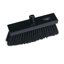 Black Polypropylene Yard Broom