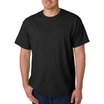 Gildan 5000 Heavy Cotton T-shirt Black 3XL-5XL