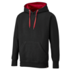 Dickies Two Tone Black/Red Polycotton Hoodie SH3007