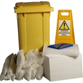 Ecospill 240L Oil Only Spill Kit 2 Wheel PE Bin H1220240