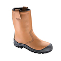 Tuf Lined Leather Rigger Boot With Midsole