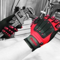 Polyco MTE Multi-Task E Red/Black Impact Gloves [Pair]