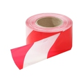 Red/White Non Adhesive Barrier Tape 250m