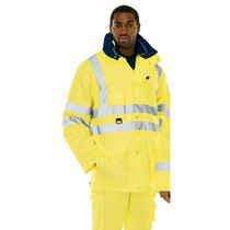 KeepSAFE XT Hi-vis Yellow Multifunction 7-in-1 Jacket