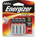 Energizer MAX AAA Batteries Pack of 4