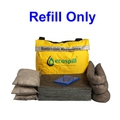 Ecospill M1880051 50L Sustainable Maintenance Spill Kit Refill