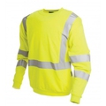 ProGARM 5626 Arc Sweatshirt Hi-Vis Yellow