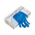Blue Vinyl Powdered Disposable Gloves [100]