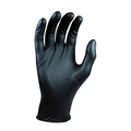 Juba Grippaz Black Nitrile Disposable Gloves [50]