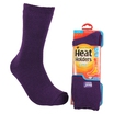Heat Holders Ladies Thermal Socks Purple