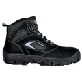Cofra Egeo Black Suede Leather Metal Free Safety Boots S1P