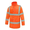 Future JK003 Hi-Viz Orange Padded Coat EN471