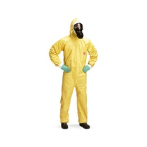 Dupont Tychem C D13395699 Yellow Type 3|4|5|6 Coveralls Size XL [25]