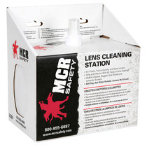 Lens Cleaning Station  [8oz Fluid + Tissues]