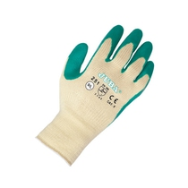 Juba 251 Grip Latex Glove Green