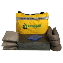 Ecospill 50L Sustainable Maintenance Spill Kit Holdall M1880050