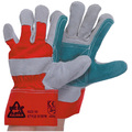 KeepSAFE Double Palm Leather Rigger Gloves