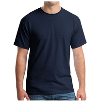Gildan 5000 Heavy Cotton T-shirt Navy 3XL-5XL