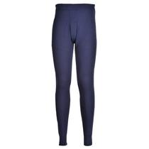 Portwest B121 Navy Blue Thermal Long Johns
