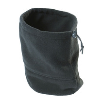 Black Fleece Neck Warmer