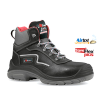 U-Power Black Rock Leather Safety Boot S3