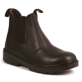RT502 Black Leather Chelsea Boot SBP
