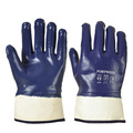 Portwest A302 Nitrile Fully Coated Safety Cuff Gloves