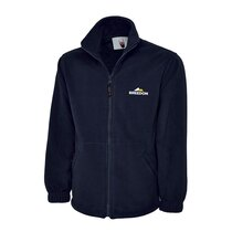 UC604 Navy Fleece + Breedon Emb