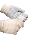 CCM Mens Cotton Chrome Leather Gloves