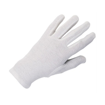 KeepCLEAN Bleached Stockinette Fourchette Ladies Gloves