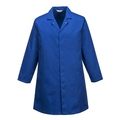 Portwest 2202 Mens Food Coat Royal Blue