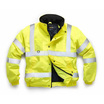 Hi-Vis Yellow Superior Bomber Jacket