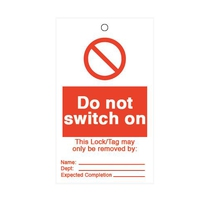 Do Not Switch On - Lockout Tags [10]