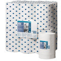 Tork 101230 White Wiping Paper Centrefeed Roll 2 Ply