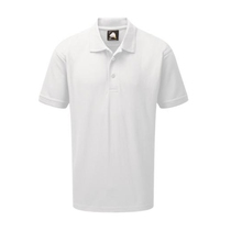 Orn 1150 Eagle Premium Polycotton Polo Shirt White