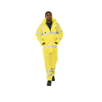 KeepSAFE Pro Hi-vis Yellow Deluxe Road Safety Jacket