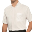 Disley White Short Sleeved Oxford Shirt H945B