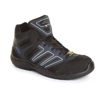 Aboutblu Indianapolis Black Mid Composite Safety Shoes