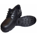 Tuf Safety Black Smooth Leather Shoe S3