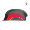 Grey/Red Micropeak Bump Cap